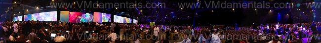 General session 360-panorama